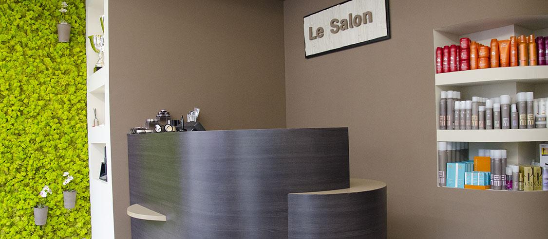 Accueil du salon Sébastien Bourret